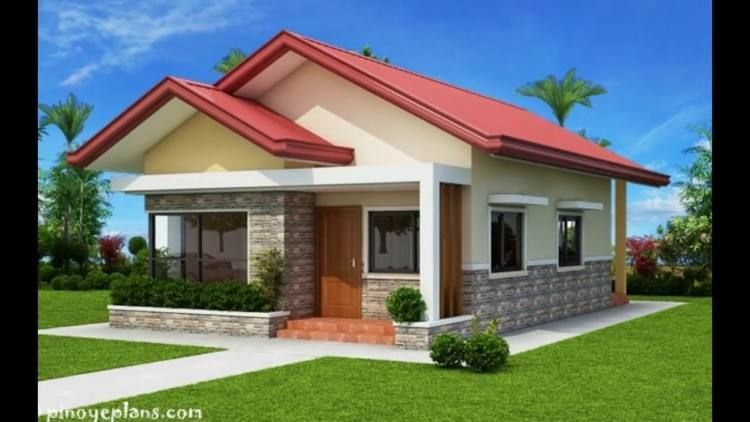 Economical House Design One Storey House Two Bedroom House Design Bungalow House Design