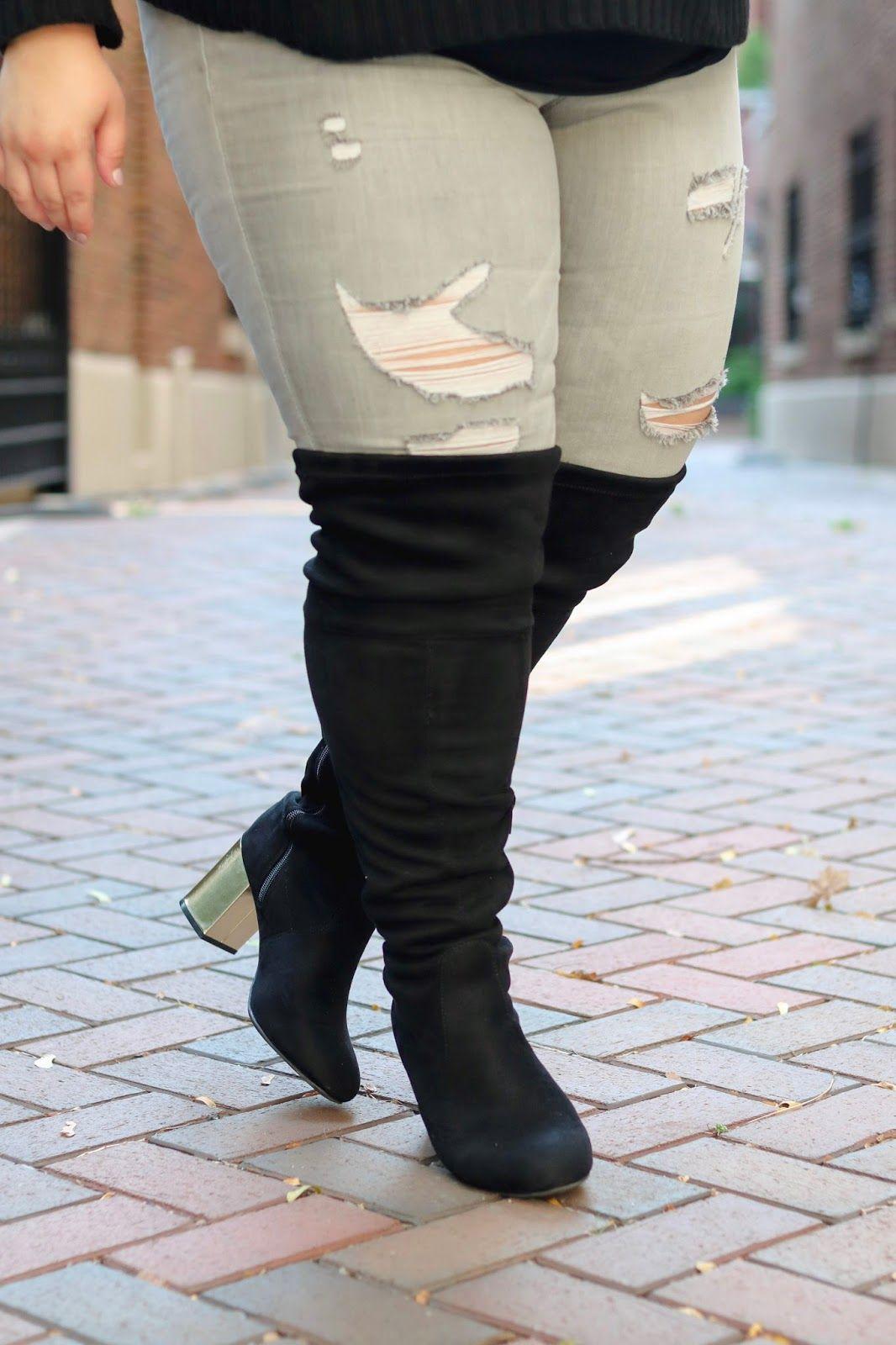 e824b9b3ac48 plus size wide calf over the knee boots, over-the-knee boots, wide calf  boots, wide calf, cheap wide calf boots, over the knee boots, wide fit, ...