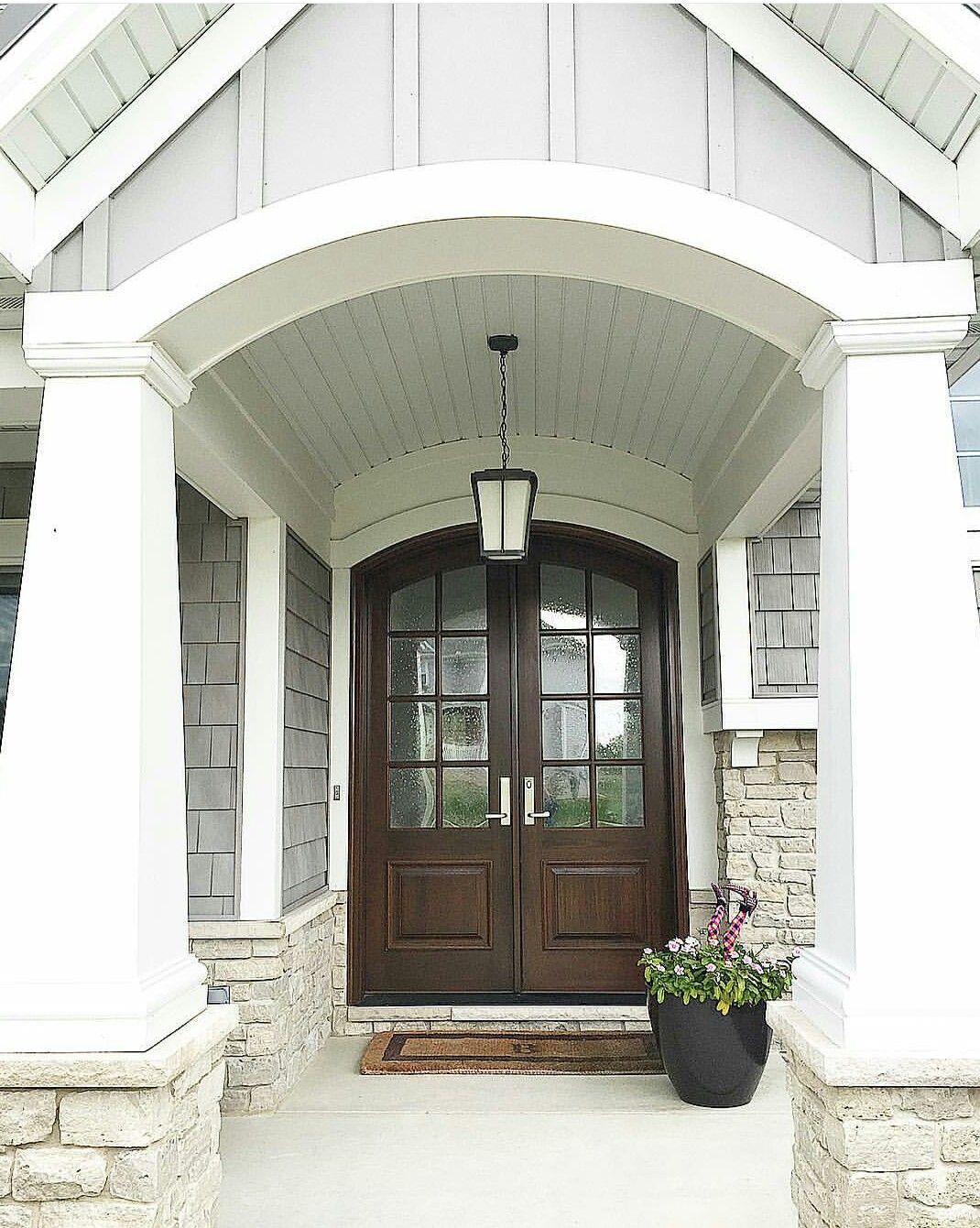 Beautiful Exterior Home Design Trends: Craftsman Exterior Entrance. Beautiful Doors