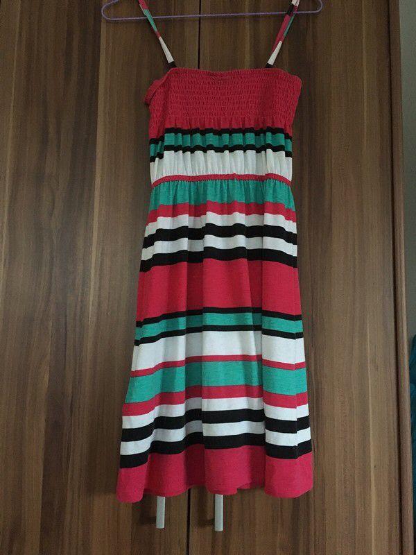 e6a7631ea Moje Pruhované šaty od Takko Fashion! Velikost 11 let za100 Kč. Mrkni na to