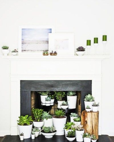Creative Fireplace Decor Cococozy