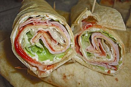 Photo of Party wraps with cream cheese and turkey breast by pukkimaus04 | Chef