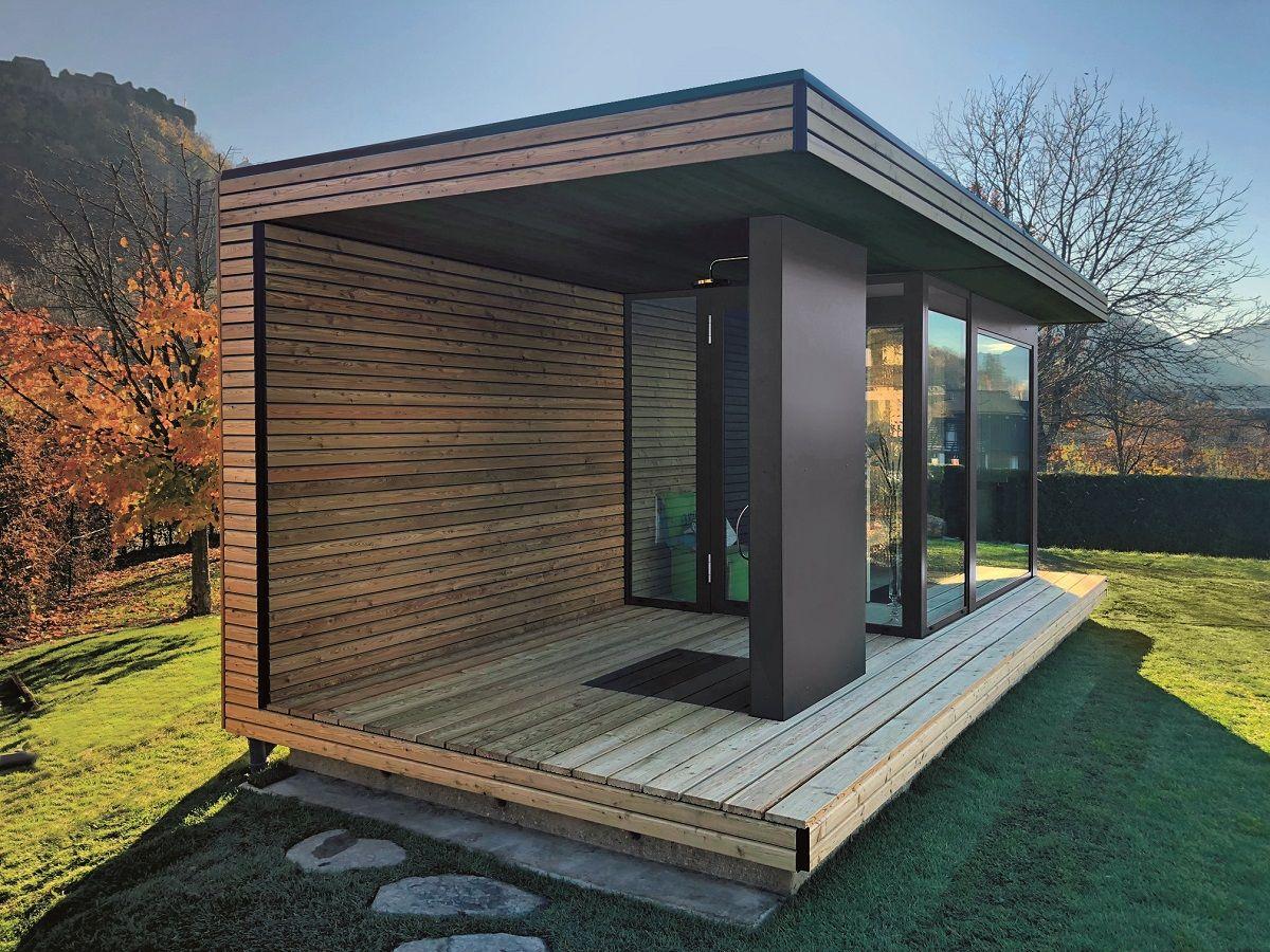 Modern Outdoor Sauna For Your Garden Sopra Ag Outdoor Sauna Sauna House Sauna Design