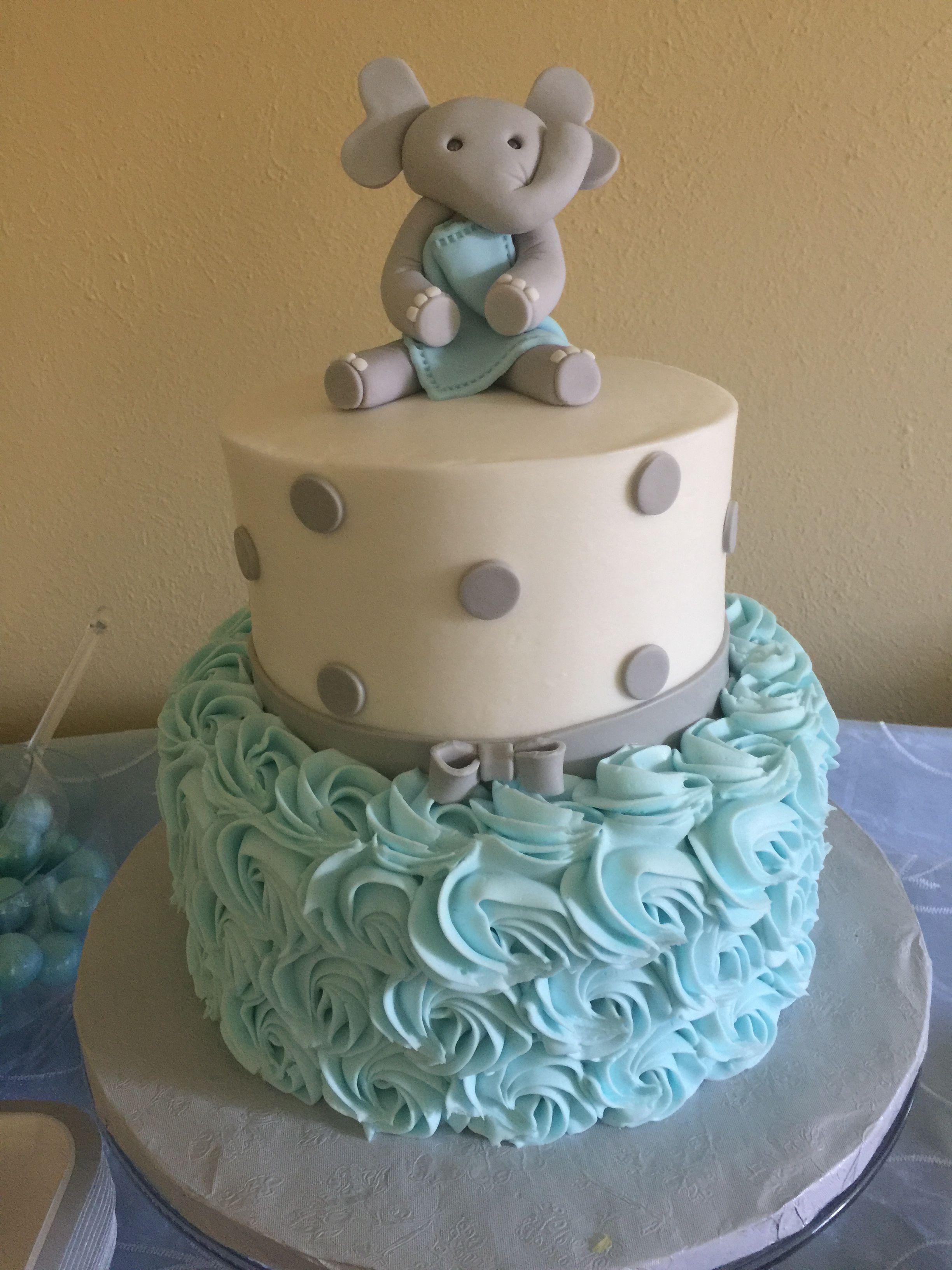 Pasteles Para Baby Shower Niño Elefante : pasteles, shower, niño, elefante, Martha, Teniente, Cakes, Elephant, Shower, Theme,, Cake,