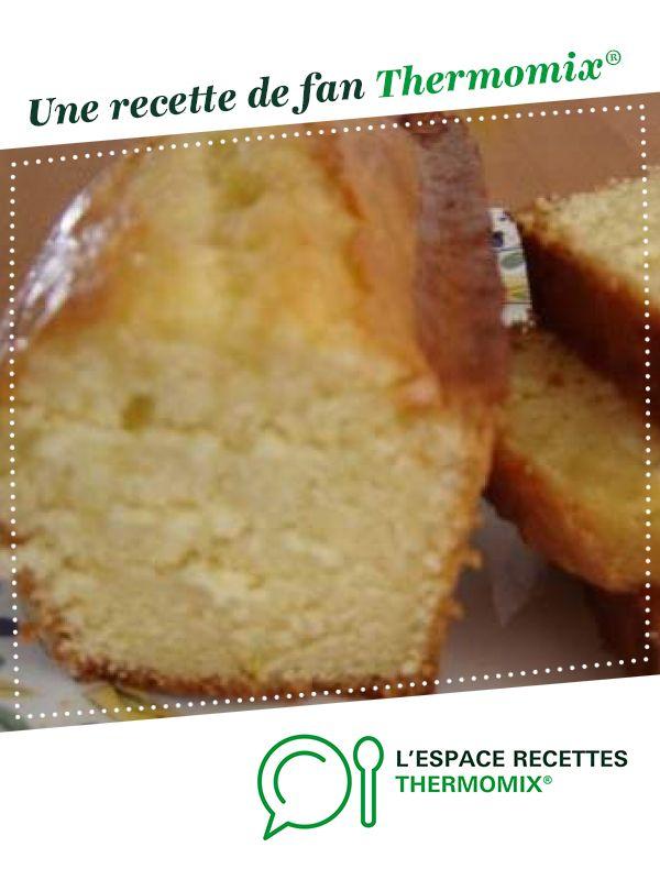 Gateau au yaourt citron ou orange #monsieurcuisineconnectrecettes