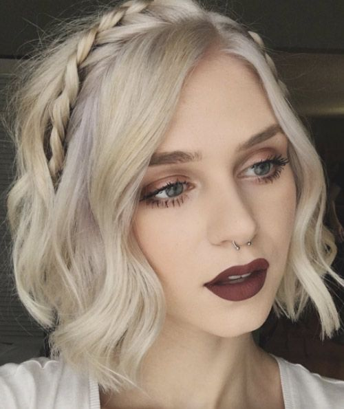 40 Cute And Clever Updos For Short Hair This Summer Haircut And