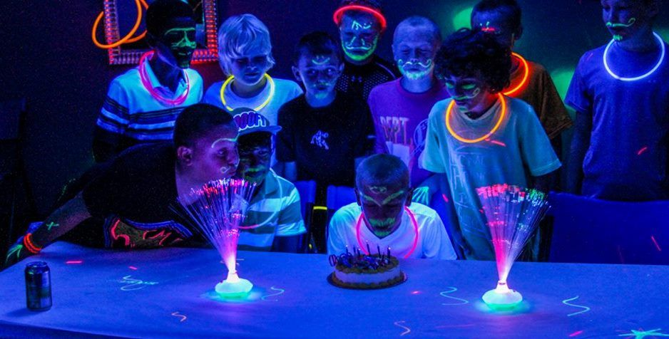 Ultrazone Madison WI Laser Tag GLOW PARTY