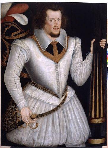 Robert Devereux, Earl of Essex, great-grandson of Mary Boleyn