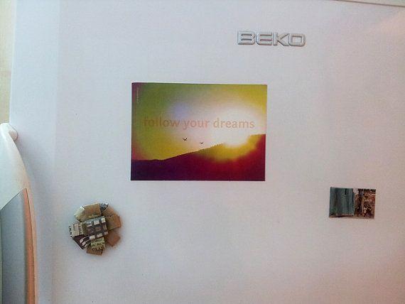 511x708 13 cm x 18 cm Magnet / Gift dream by DoritSternMagnets, $10.00