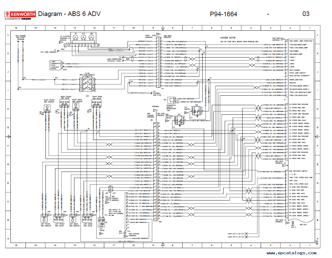 A Wiring Diagram Is A Type Of Schematic That Uses Abstract Pictorial Symbols To Show All The Interconnections Of Electrical Wiring Diagram Kenworth Electricity