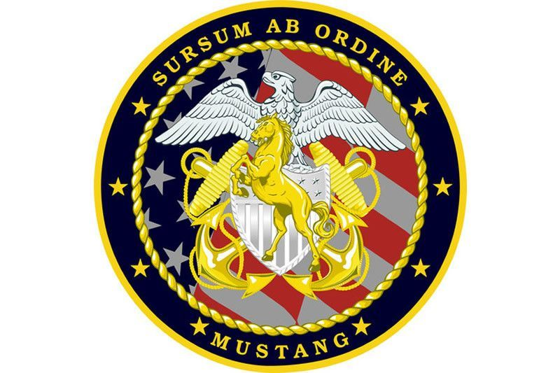 Navy Blue Mustang Sweatshirt Blue Mustang Mustang And