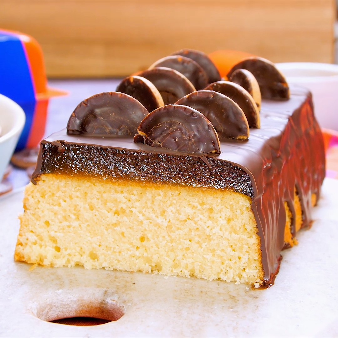 Photo of Jaffa Cake loaf cake