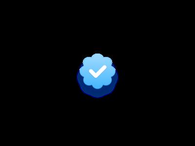 Twitter Verified Badge Badge Badge Design Instagram
