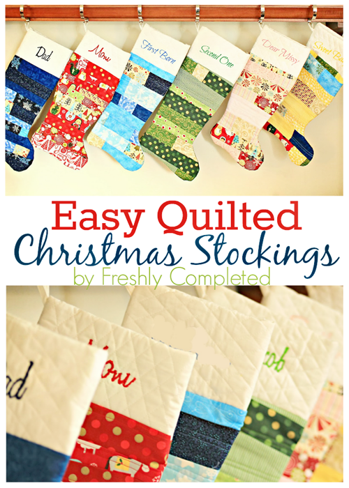 27 Free Diy Homemade Christmas Stockings Patterns And
