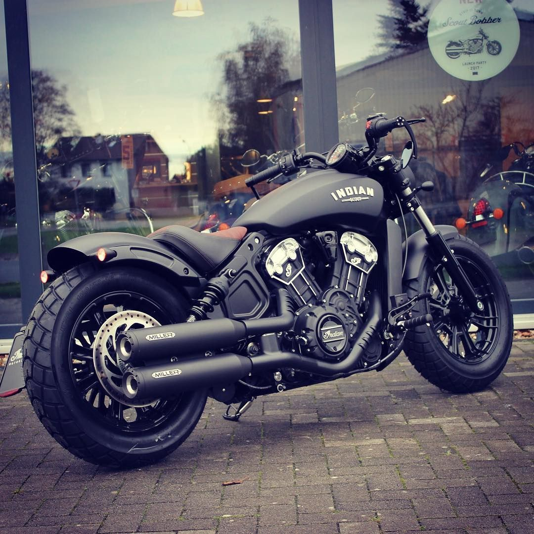 Indian Motorcycle Celle On Instagram Scout Bobber