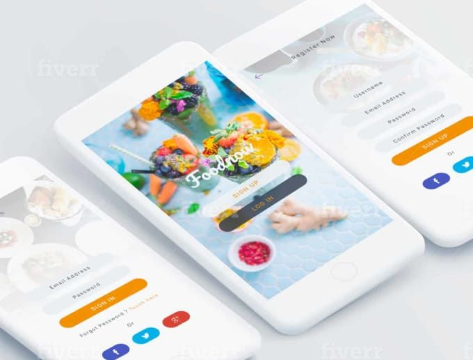 I will design eyecatching ui ux design for iphone or android apps #ad , #AD, #ui#eyecatching#design#ux