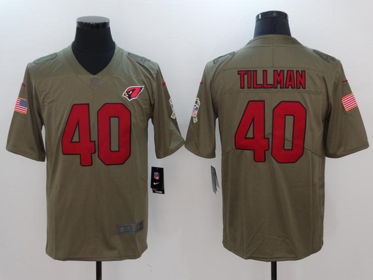 aa3045779226 Men 40 Pat Tillman Jersey Football Arizona Cardinals Jersey ...