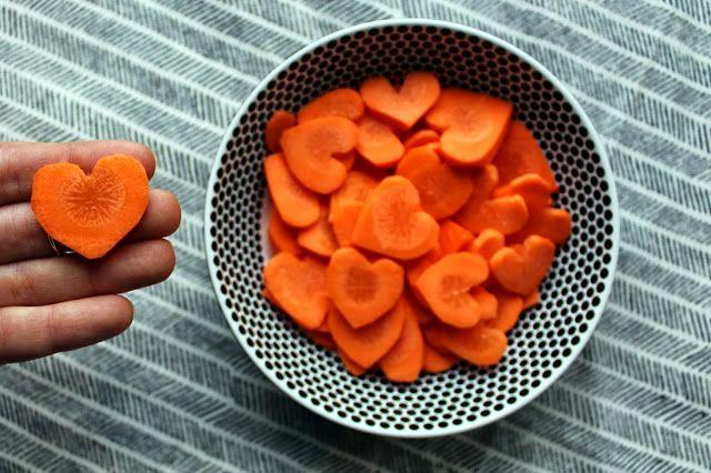 Hearty Carrots on www.voll-toll.com - Herzkaröttchen