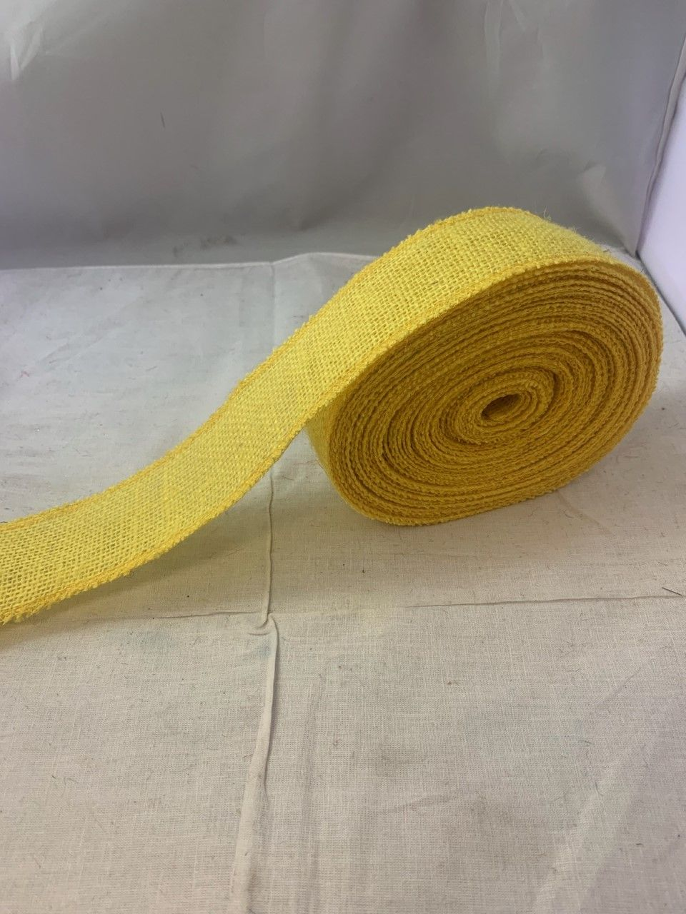 2 Candy Corn Burlap Ribbon 10 Yards Serged Made In Usa In 2020 Burlap Ribbon Candy Corn Burlap
