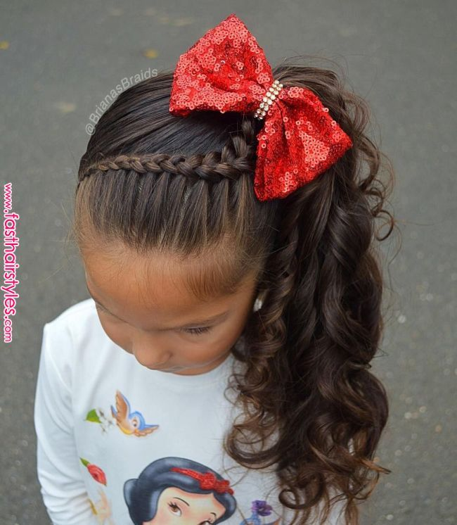 Pin by Stefani on Cute kids #girlhair