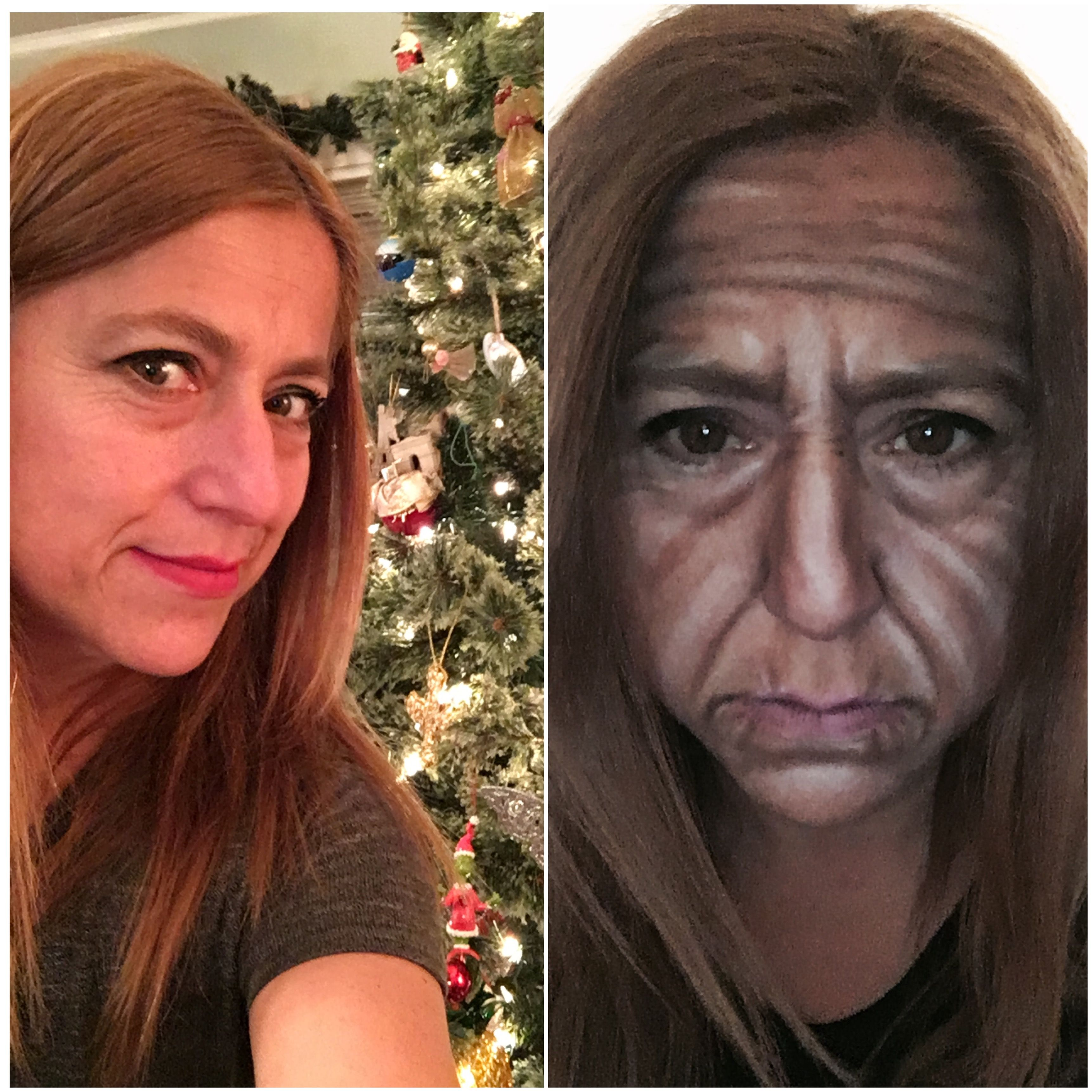 Makeup transformation  By Claudia nieswand
