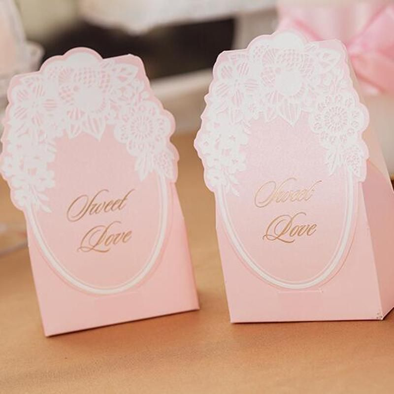 Cheap Wedding Favors Gift Boxes Candy Box Party Favors Hollow