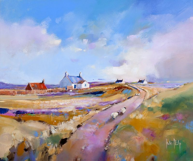 Croft, Iona by Kate Philp - annanArt