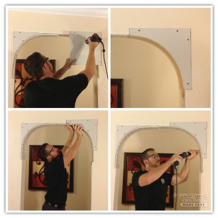 How to build an arch 02 arches pinterest arch for Arch ideas for home