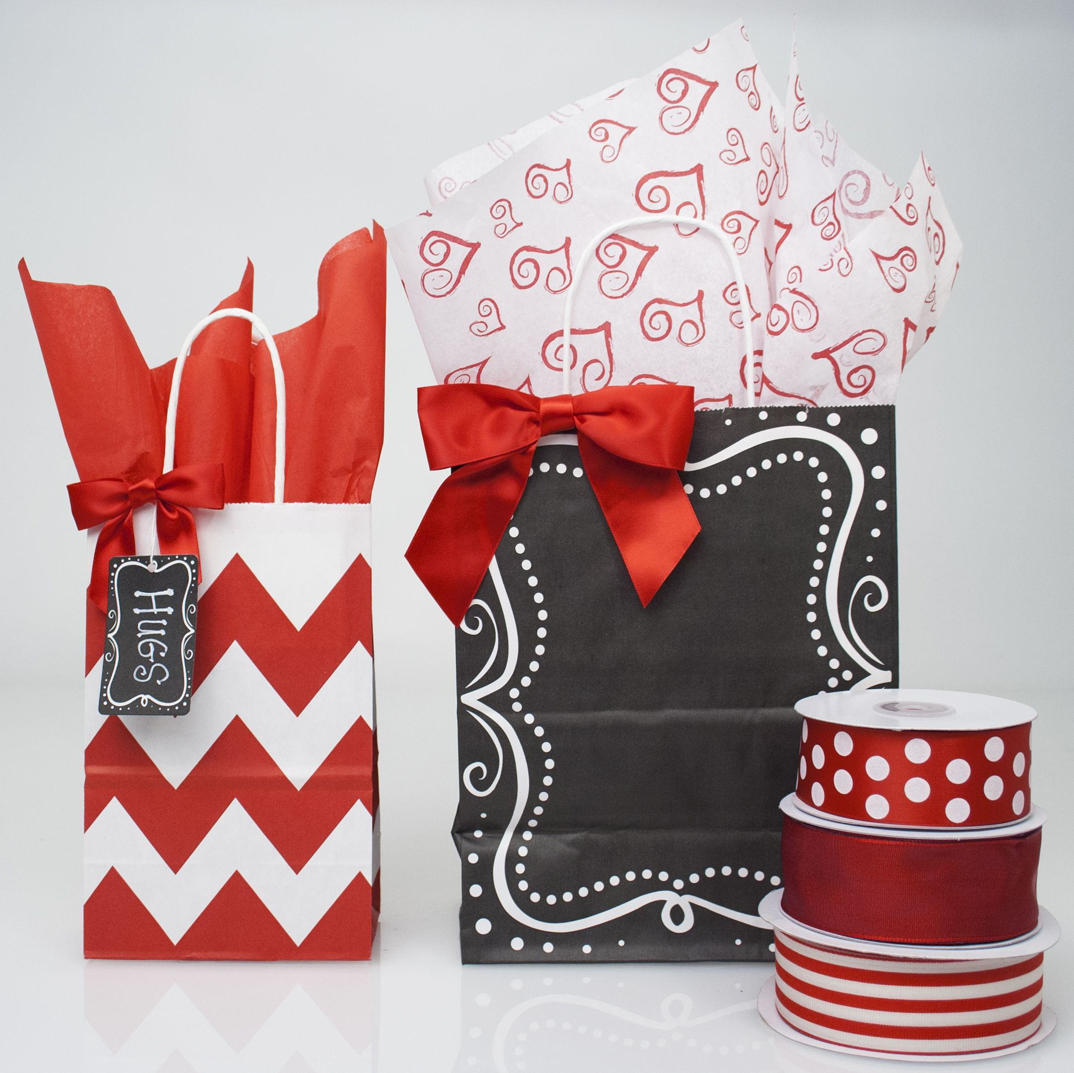 SWEETIES gift-wrap with gift tag