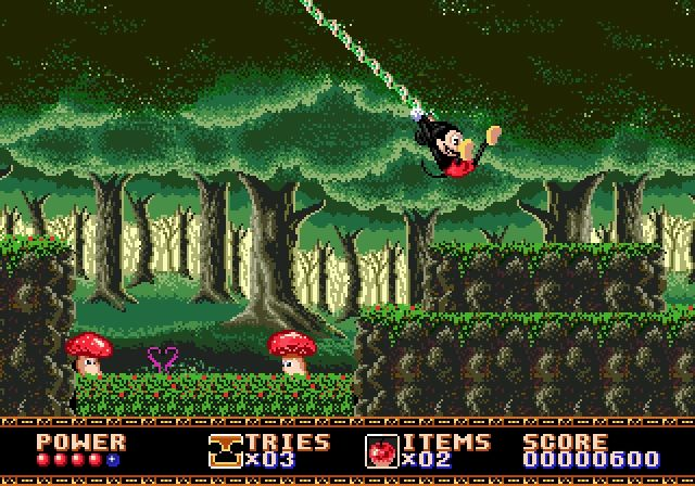 Mickey Mouse Castle of Illusion Sega Genesis on http:/hippobytes.com