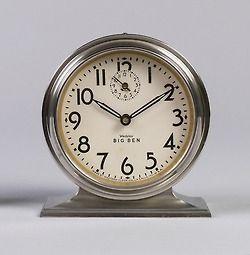 design-is-fine:  Henry Dreyfuss, Quartz Alarm Clock Big Ben, 1931. Made by Westclox, USA