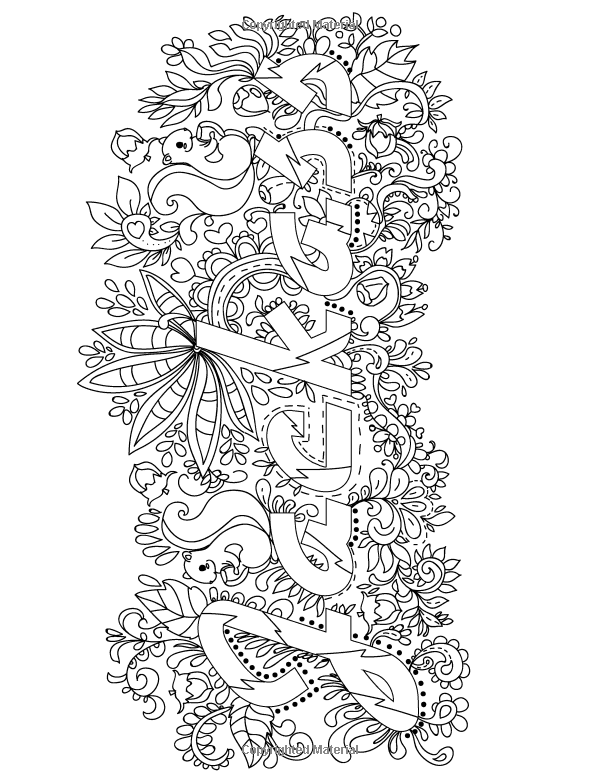 Amazon Swear Word Adult Coloring Book Stress Relief With Sweary
