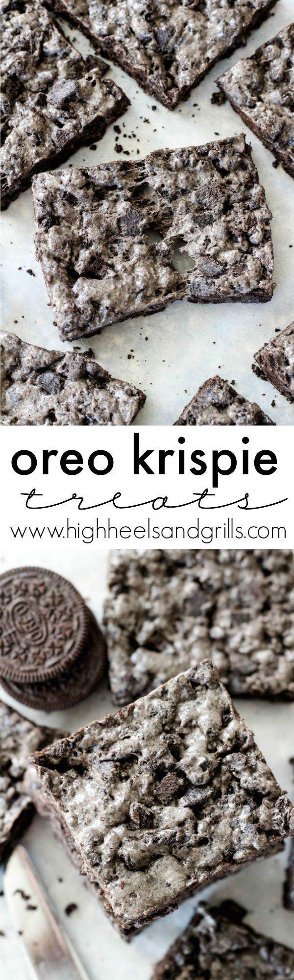 Photo of Oreo Krispie Treats