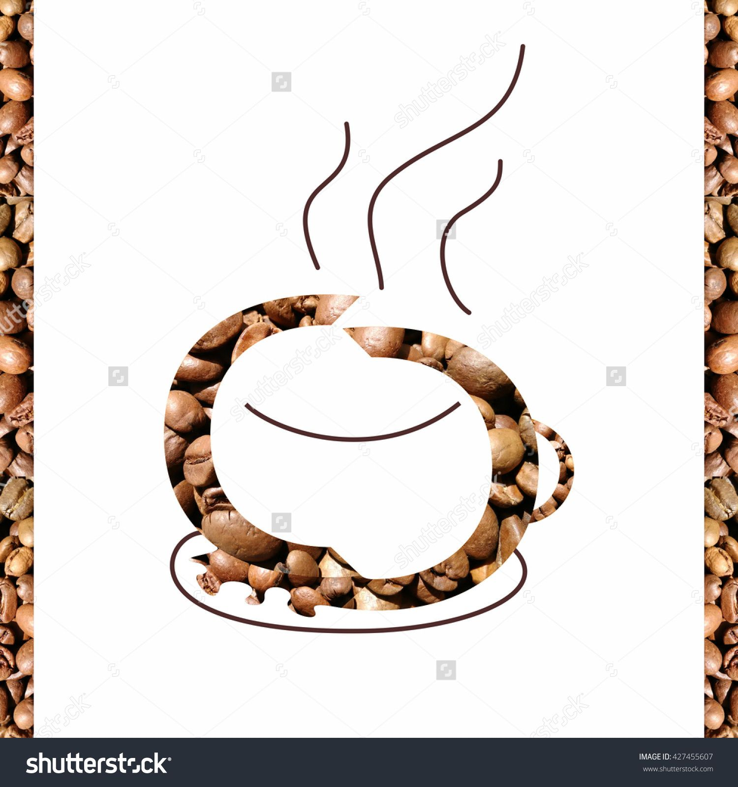 Coffee cup made of two c letters with coffee grains texture coffee cup made of two c letters with coffee grains buy this stock illustration on shutterstock find other images biocorpaavc