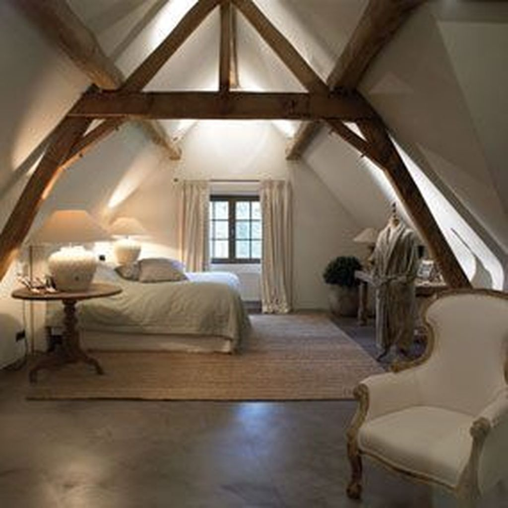 41 Awesome Traditional Attic You Can Try Bedroom Interior Bedroom Design Bedroom Loft