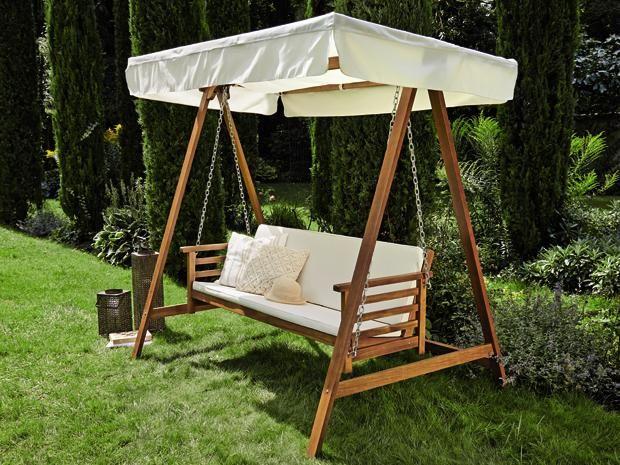 die hollywoodschaukel diana von sunfun l dt zum tr umen und verweilen ein sie besteht aus. Black Bedroom Furniture Sets. Home Design Ideas