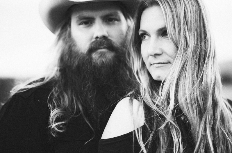 "Chris Stapleton and his wife Morgane recorded their stunning rendition of the classic track for Dave Cobb's upcoming concept album, ""Southern Family."""