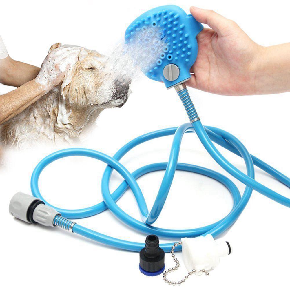 PalmSized Pet Bathing & Massaging Shower Sprayers Pets