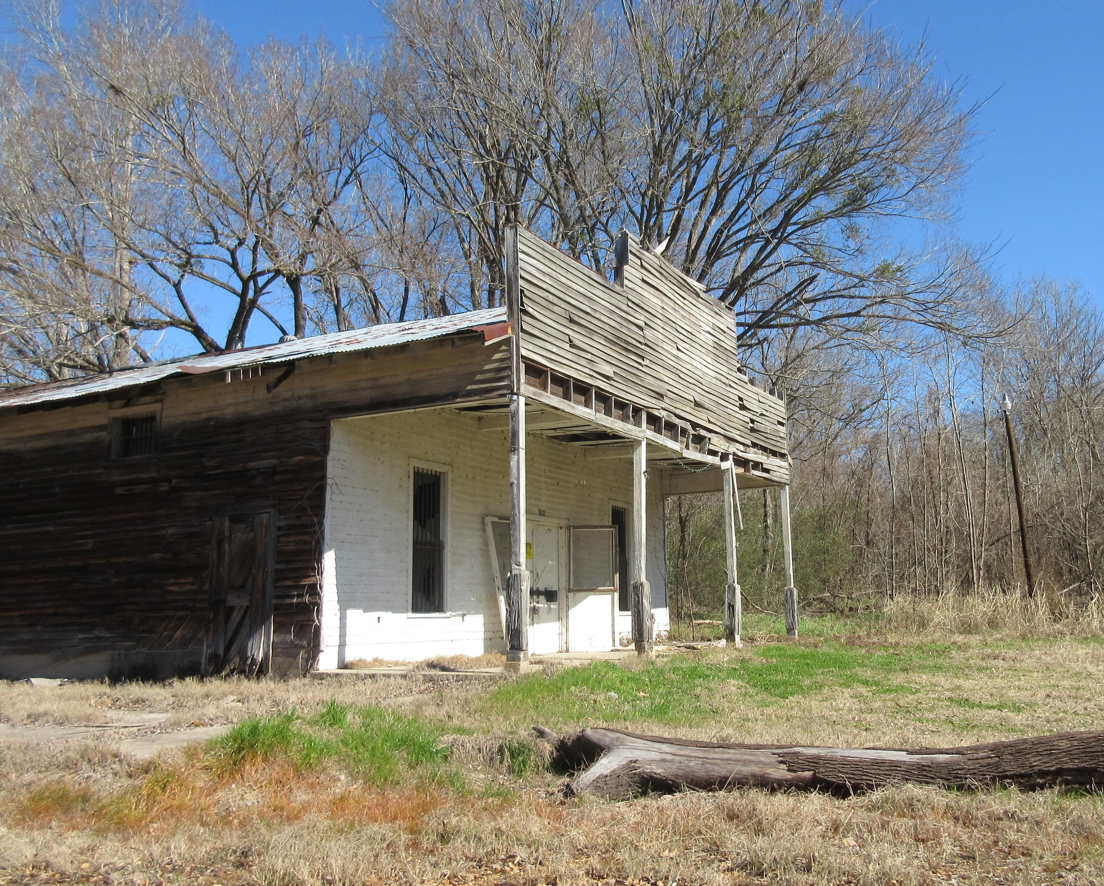 Store On An Old Spur Road That Runs From The Old Natchez