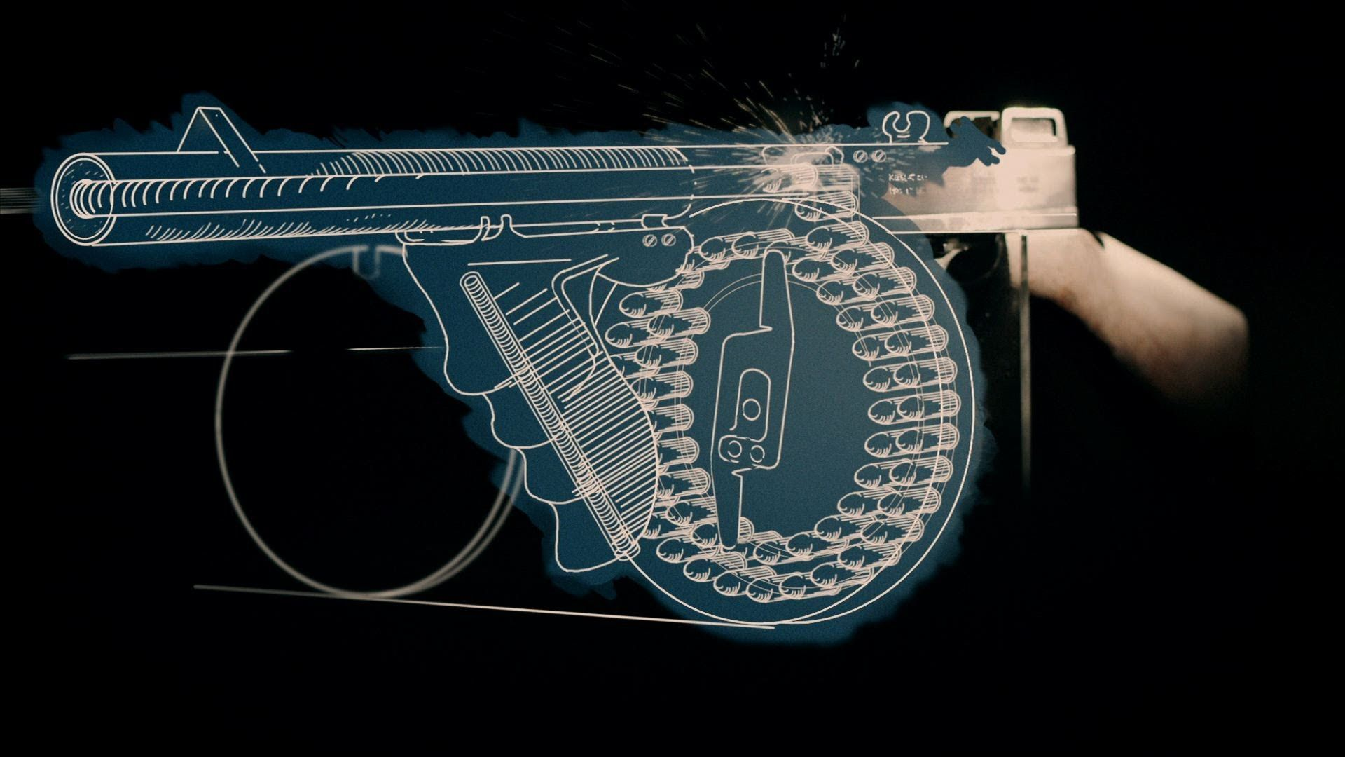 Tommy Gun Fallout New Vegas Wallpaper