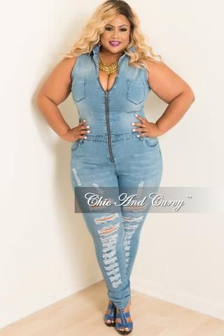Chic And Curvy Cool Place To Shop Jumpsuits More In 2018 Moda