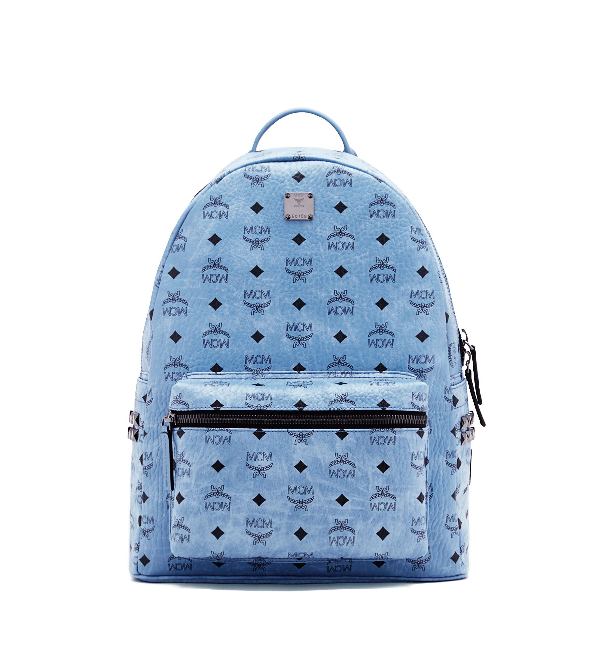 65b7d26f21c MCM STARK BACKPACK IN SIDE STUDDED VISETOS.  mcm  bags  lining  canvas   backpacks