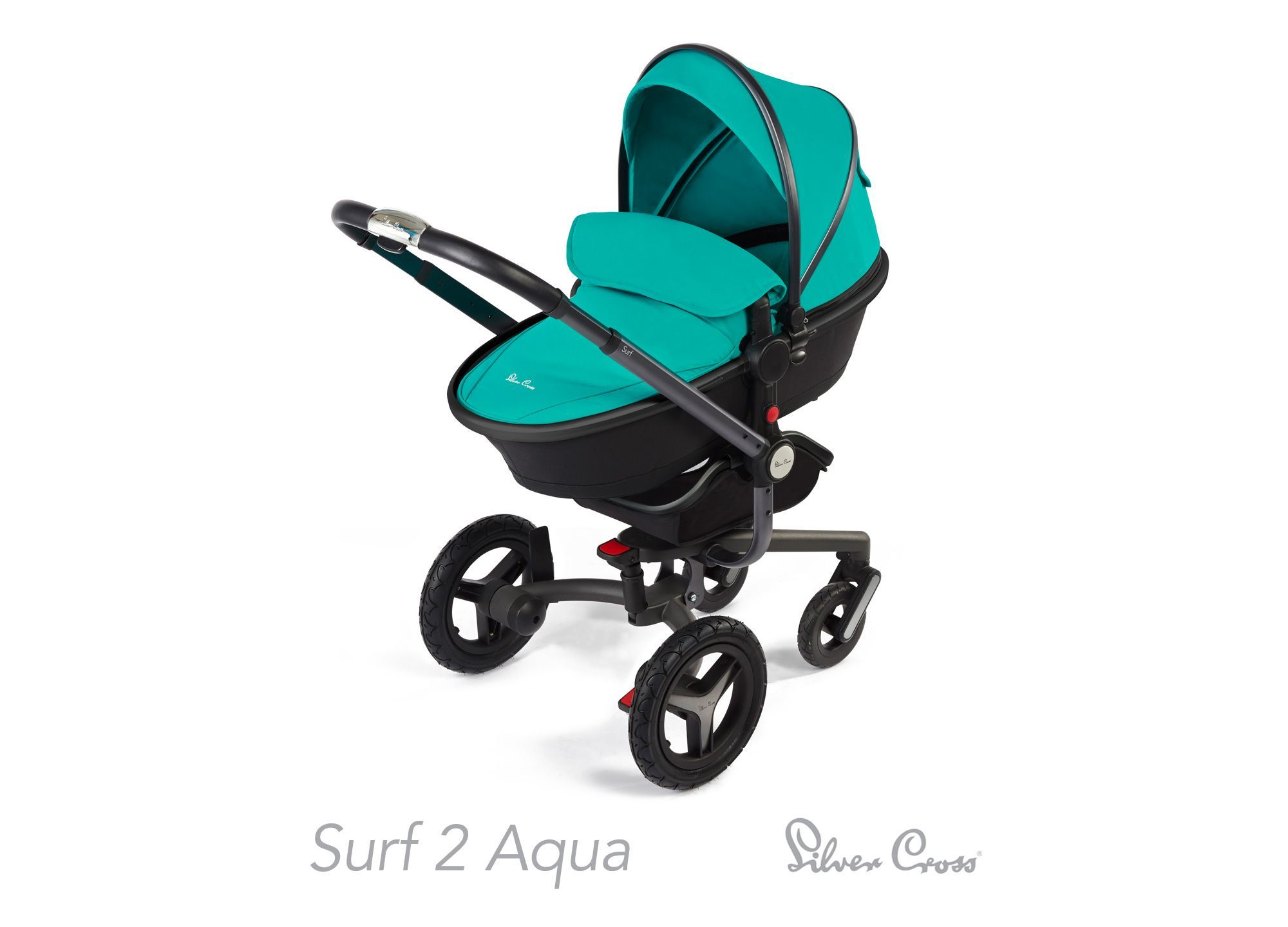 Oyster Double Pram Mothercare Silver Cross Surf 2 Pram And Pushchair Aqua Exclusive To