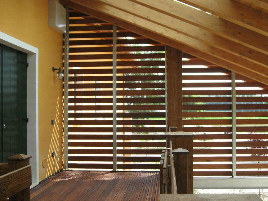 Pannello in legno per facciate BRISE-SOLEIL by Ravaioli Legnami ...