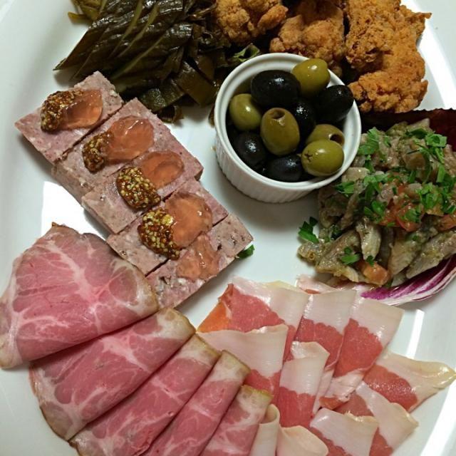 レシピとお料理がひらめくSnapDish - 10件のもぐもぐ - Italian Anti-pasti for home party;) by aястасия