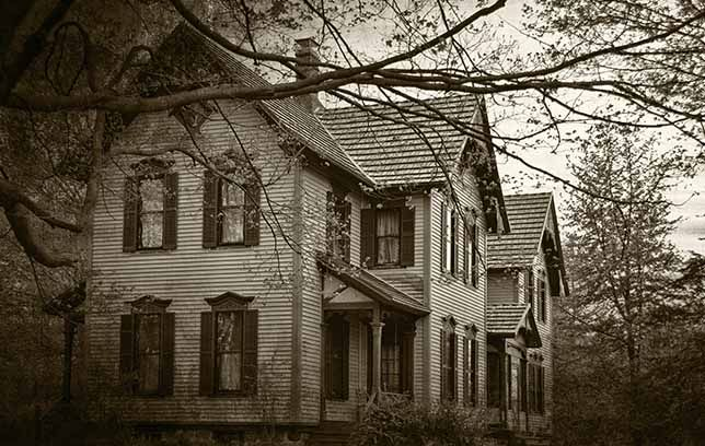 How To Tell If Your House Is Haunted Real Haunted Houses Creepy Houses Old Country Houses