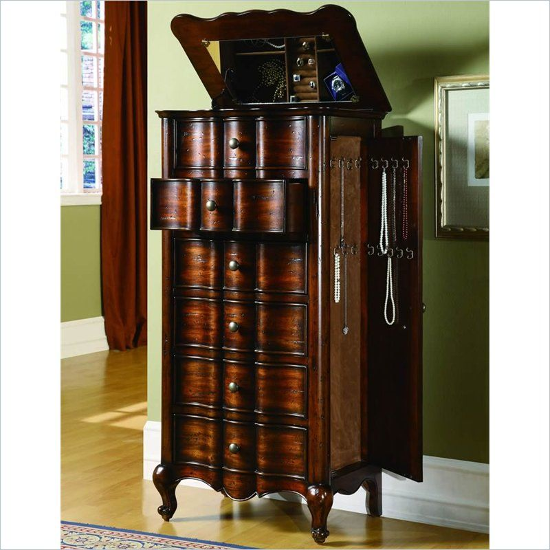 Image Gallery Large Jewelry Armoire