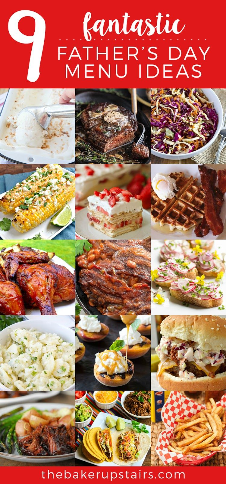 9 Fantastic Fathers Day Menus Best Of Pinterest Pinterest