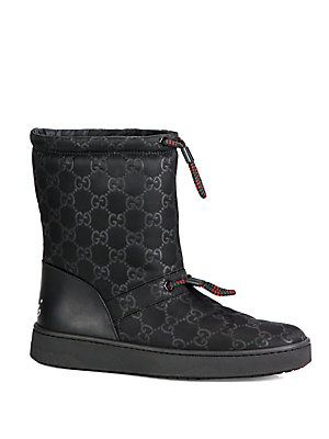 Gucci Leather Snow Boots 6bNZ01FB7