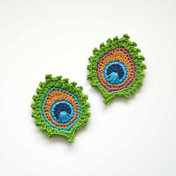 Afbeeldingsresultaat voor free crochet peacock feather pattern ...